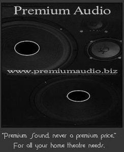 black and white premium audio logo